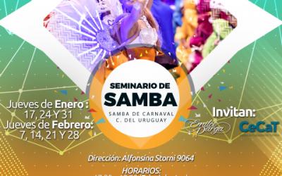 Seminario de Verano – Samba de Carnaval