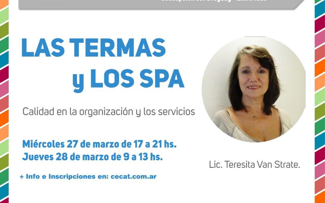 Capacitaciones #Termas y los Spa.