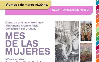 Inauguración de la Muestra de Artistas#Entrerrianasen el CECAT