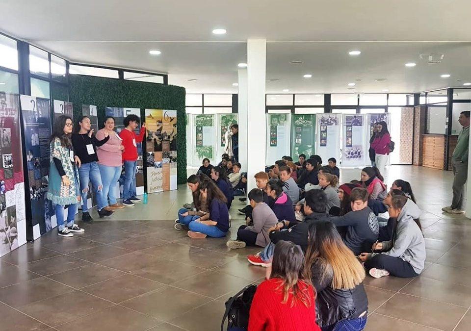 La Muestra de Ana Frank en el Cecat. Un evento que convocó a más de 3000 personas.