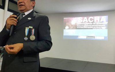 SACHA, Combatiendo el silencio. Un documental de Malvinas en Cecat.