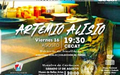 # Muestra Homenaje por los 30 años del Museo Artemio Alisio en el Cecat
