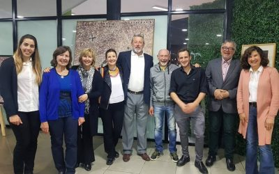 Se inauguró la Muestra en Homenaje al artista Artemio Alisio en el Cecat