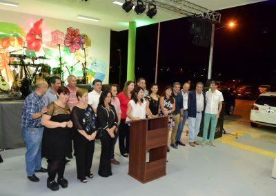 Inauguraciónón CECAT, palabras de Carolina Gaillard