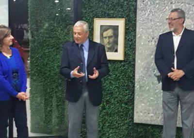 Intendente Lauritto Muestra homenaje Artemio Alisio