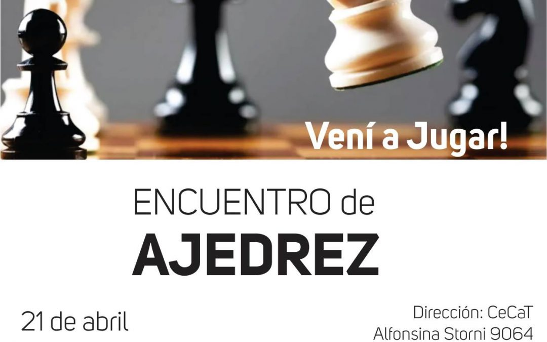 Primer Encuentro de Ajedrez