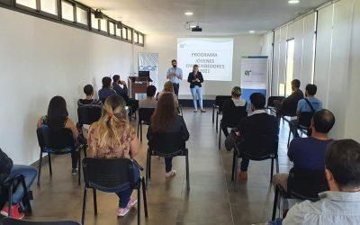Presentación del programa #JóvenesEmprendedores,